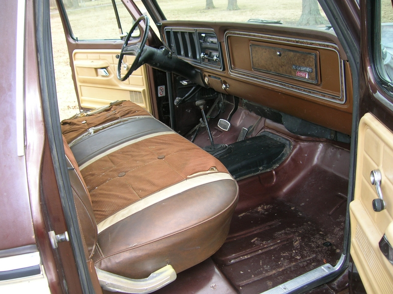 1978 F150 Swb Lariat Brown And Tan
